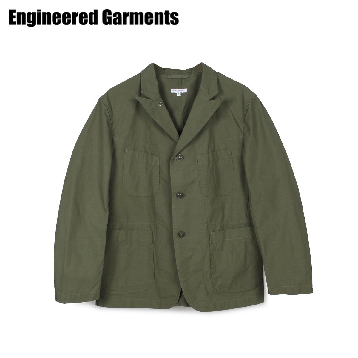 【最大2000円OFFクーポン】 エンジニアドガーメンツ ENGINEERED GARMENTS ベッドフォードジャケット ジャケット メンズ BEDFORD JACKET オリーブ 20S1D005 [4/22 新入荷]