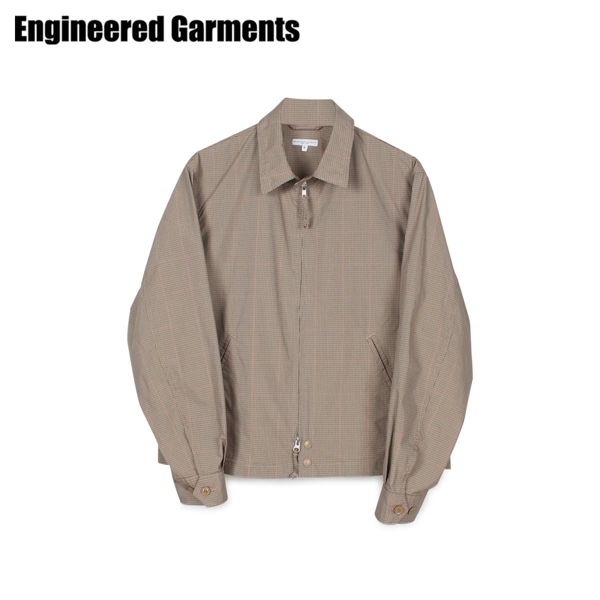 【最大2000円OFFクーポン】 エンジニアドガーメンツ ENGINEERED GARMENTS ジャケット メンズ CLAIGTON JACKET ベージュ 20S1D026 [4/22 新入荷]