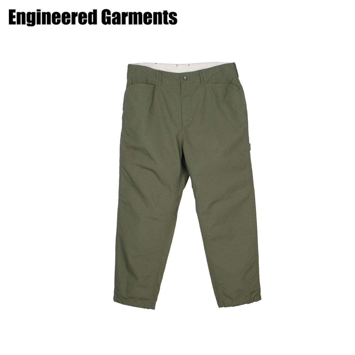 【最大2000円OFFクーポン】 エンジニアドガーメンツ ENGINEERED GARMENTS ペインターパンツ ワークパンツ パンツ メンズ PAINTER PANT オリーブ 20S1F005 [4/22 新入荷]