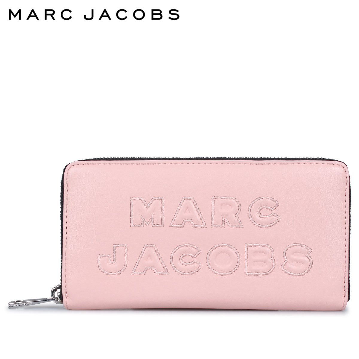 マークジェイコブス MARC JACOBS 財布 長財布 レディース ラウンドファスナー WALLET ピンク M0015683-839