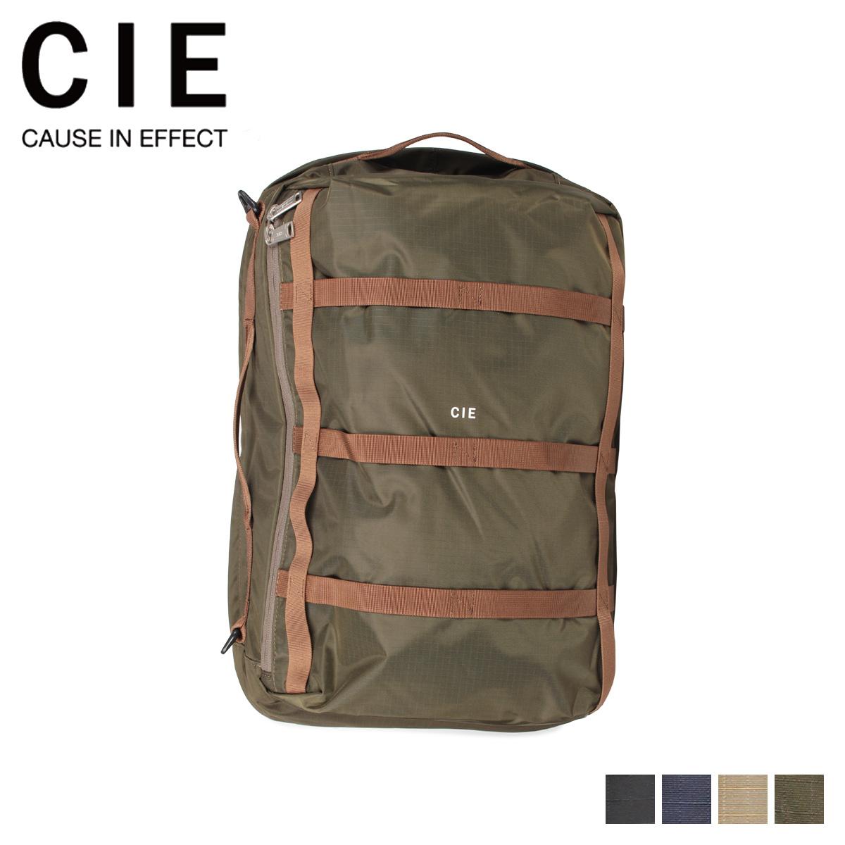 CIE シー リュック バッグ バックパック メンズ レディース GRID ブラック ネイビー サンド オリーブ 黒 031803