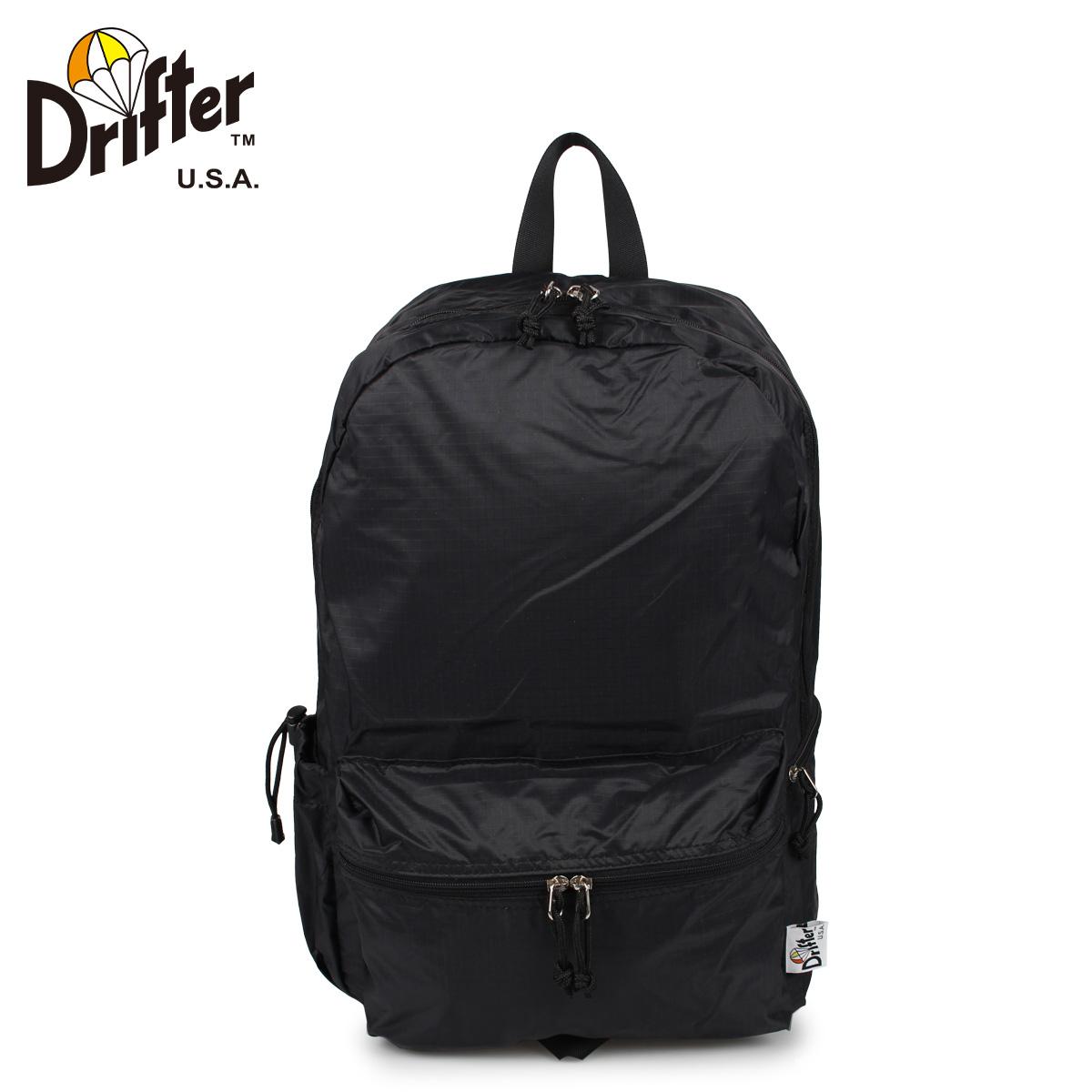 Drifter ドリフター リュック バッグ バックパック メンズ レディース 17L FLY PACK ブラック 黒 DFV2460