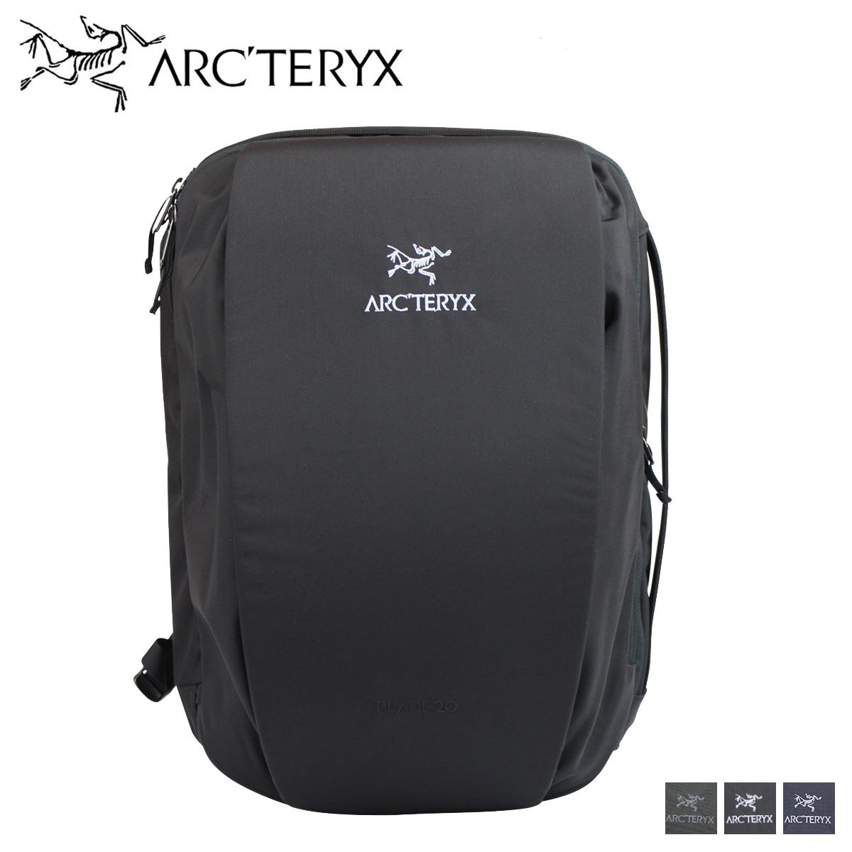 ARCTERYX アークテリクス リュック バッグ バックパック メンズ 20L BLADE 20 ブラック グレー ネイビー 黒 16179