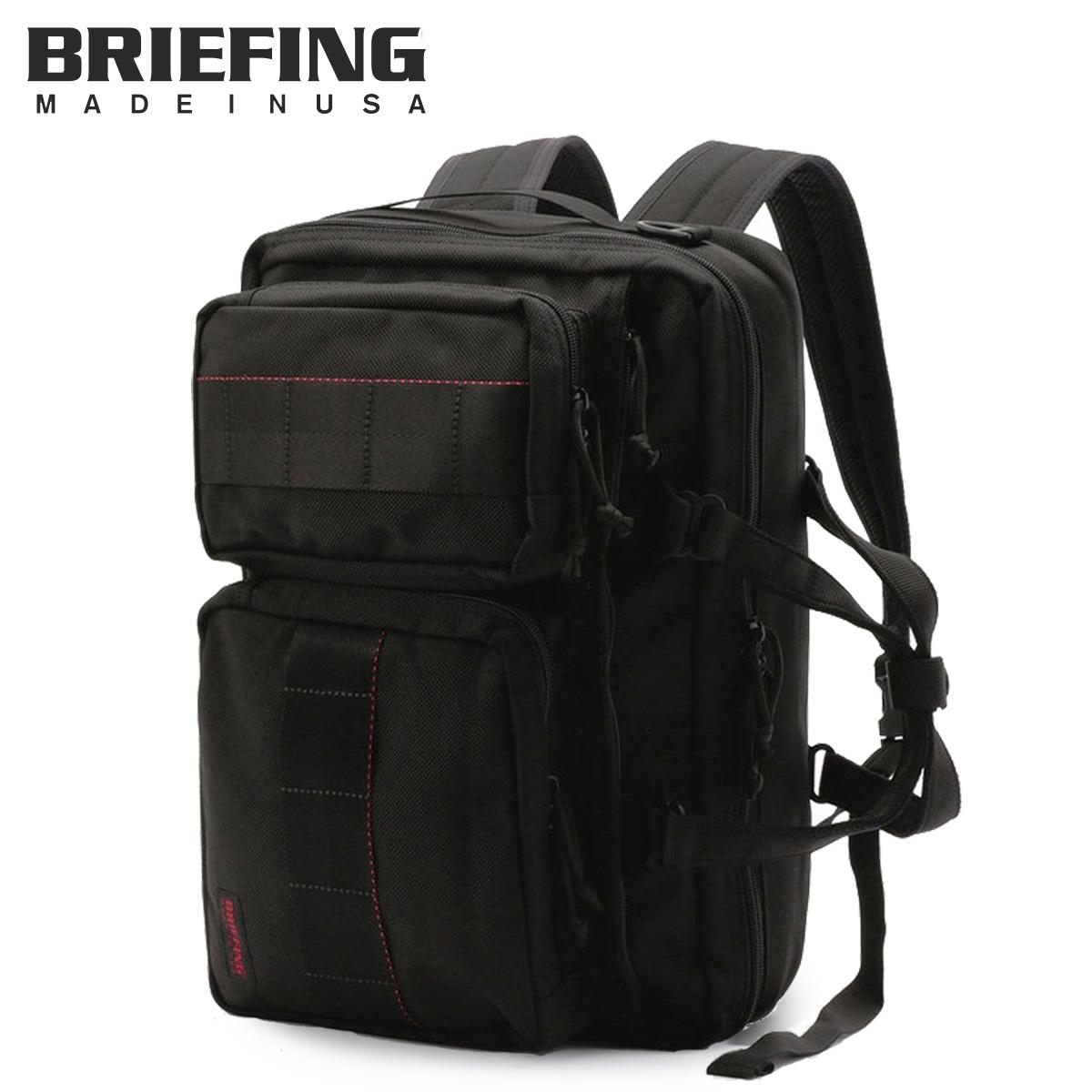 ブリーフィング BRIEFING バッグ ブリーフケース リュック ビジネスバッグ メンズ 3WAY 12L NEO TRINITY LINER ブラック 黒 BRF399219