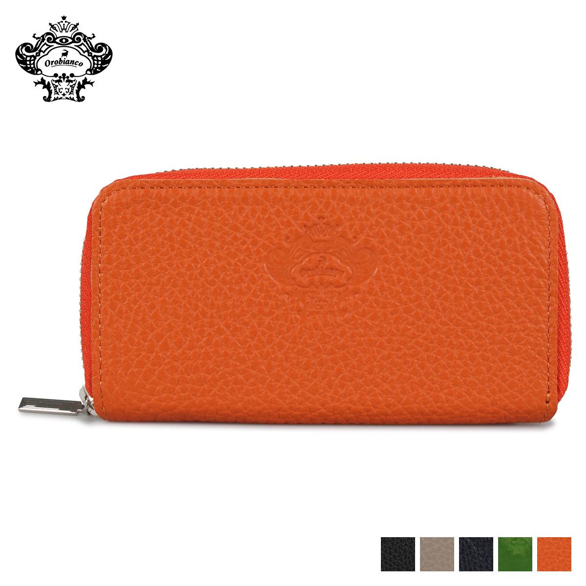オロビアンコ Orobianco キーケース キーホルダー スマートキーケース メンズ レディース ラウンドファスナー KEY CASE ブラック グレー ネイビー グリーン オレンジ 黒 OBKC-003