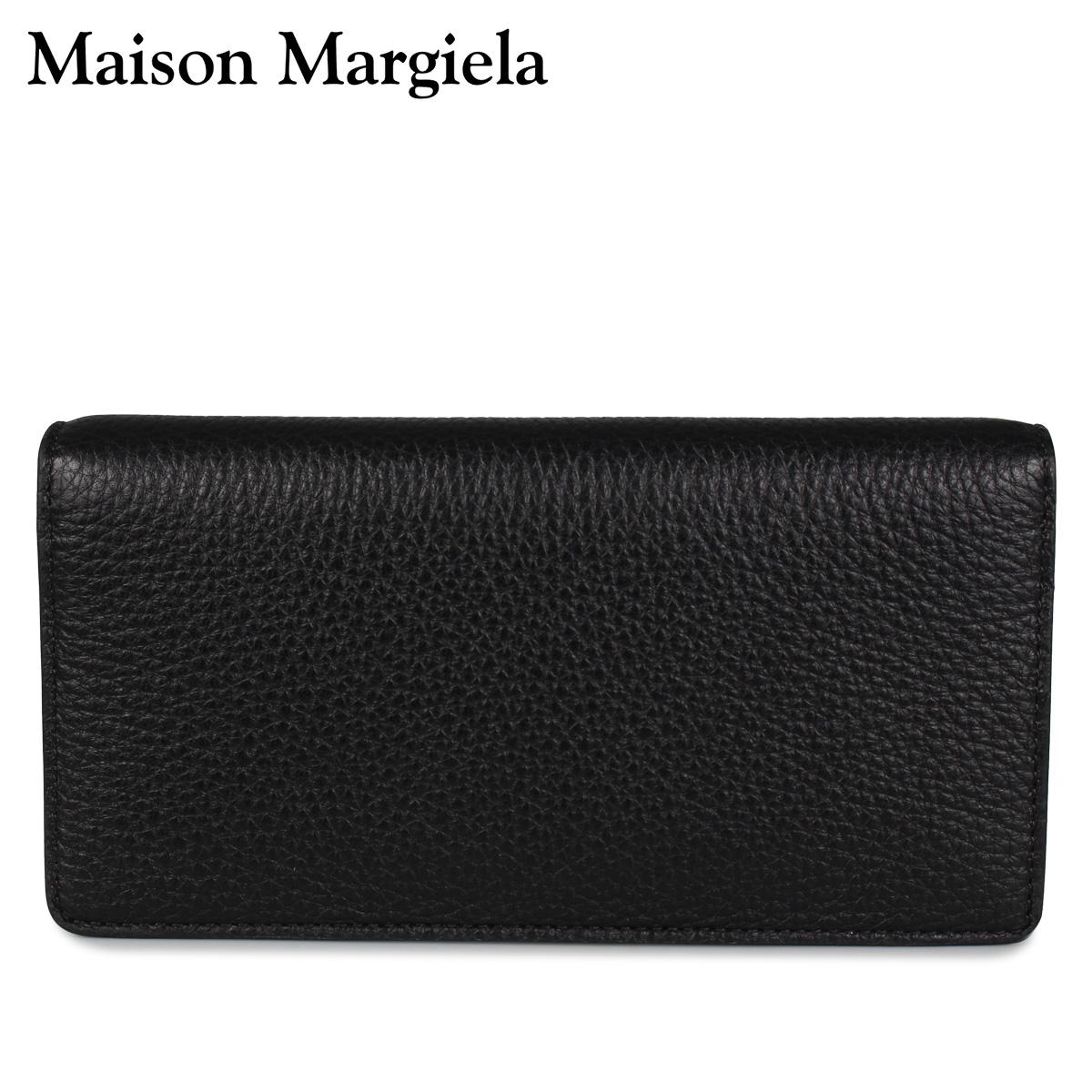 メゾンマルジェラ MAISON MARGIELA 財布 長財布 メンズ レディース LONG WALLET ブラック 黒 S55UI0202