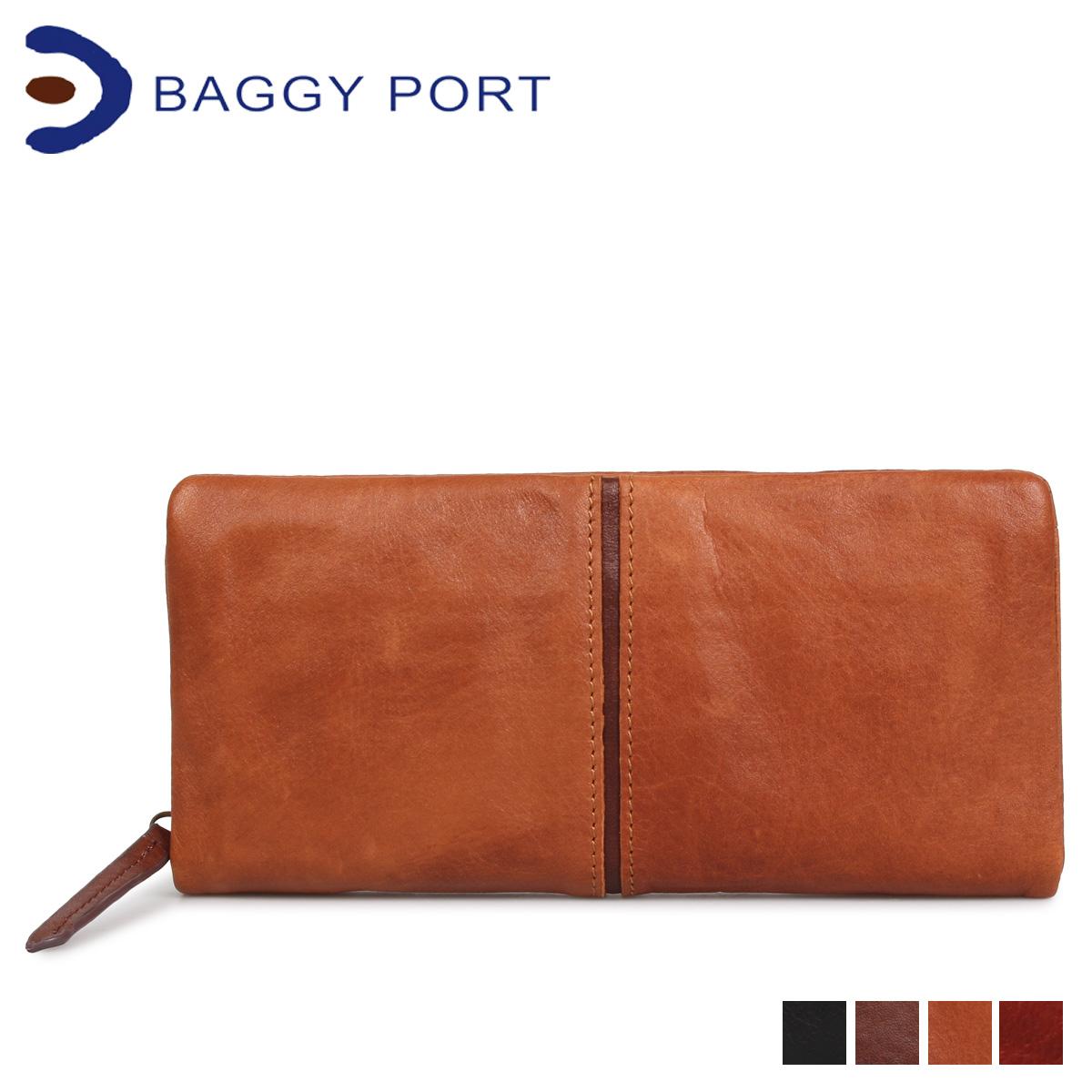 バギーポート BAGGY PORT 財布 長財布 メンズ レディース FULLCHROME ブラック キャメル ブラウン 黒 HRD400