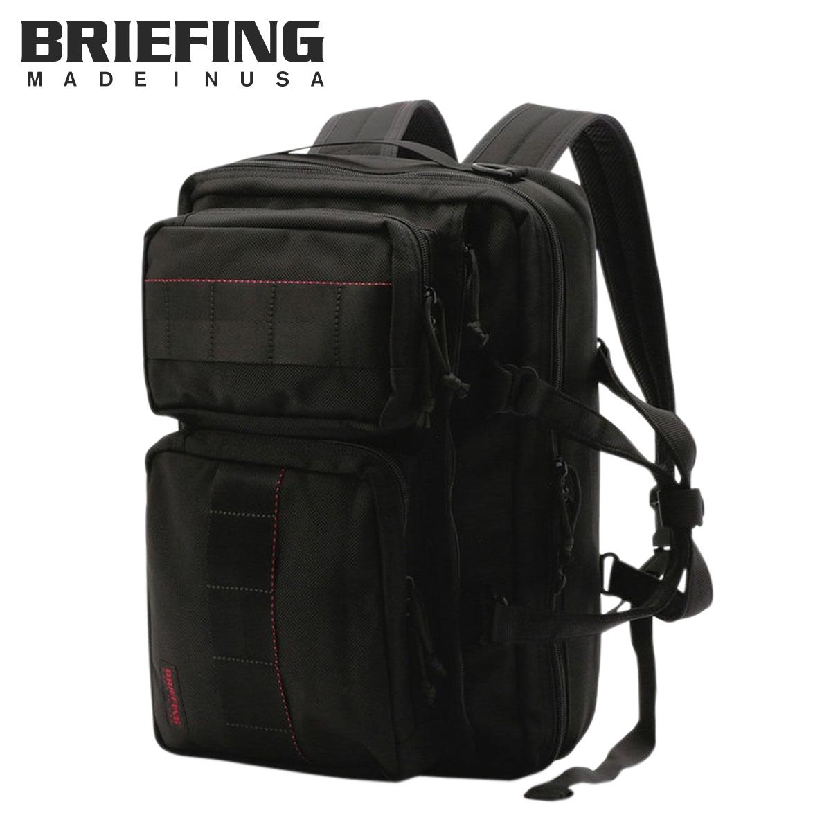 ブリーフィング BRIEFING バッグ ブリーフケース リュック ビジネスバッグ メンズ 12L 3WAY NEO TRINITY LINER ブラック 黒 BRF399219