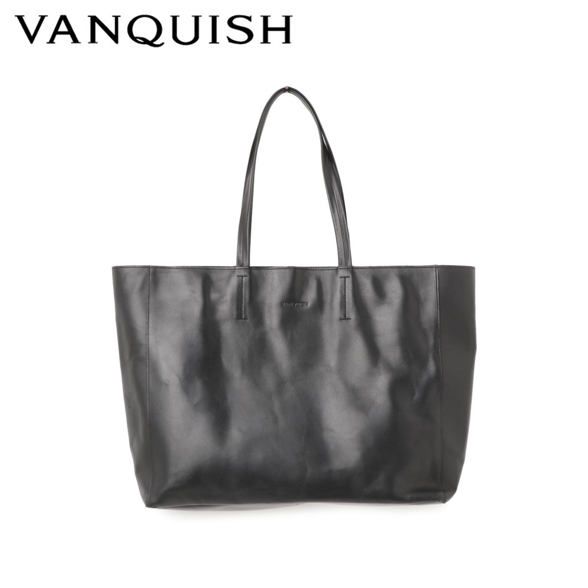 ヴァンキッシュ VANQUISH バッグ トートバッグ メンズ TOTE BAG ブラック 黒 VQM-41490