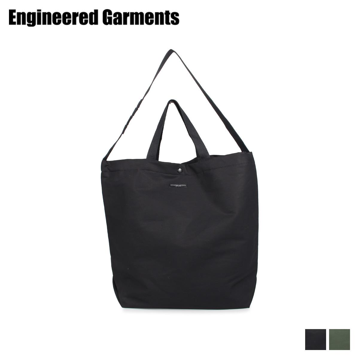 エンジニアドガーメンツ ENGINEERED GARMENTS バッグ トートバッグ ショルダー メンズ レディース 2WAY CARRY ALL TOTE ブラック オリーブ 黒 20F1H015 [9/23 新入荷]