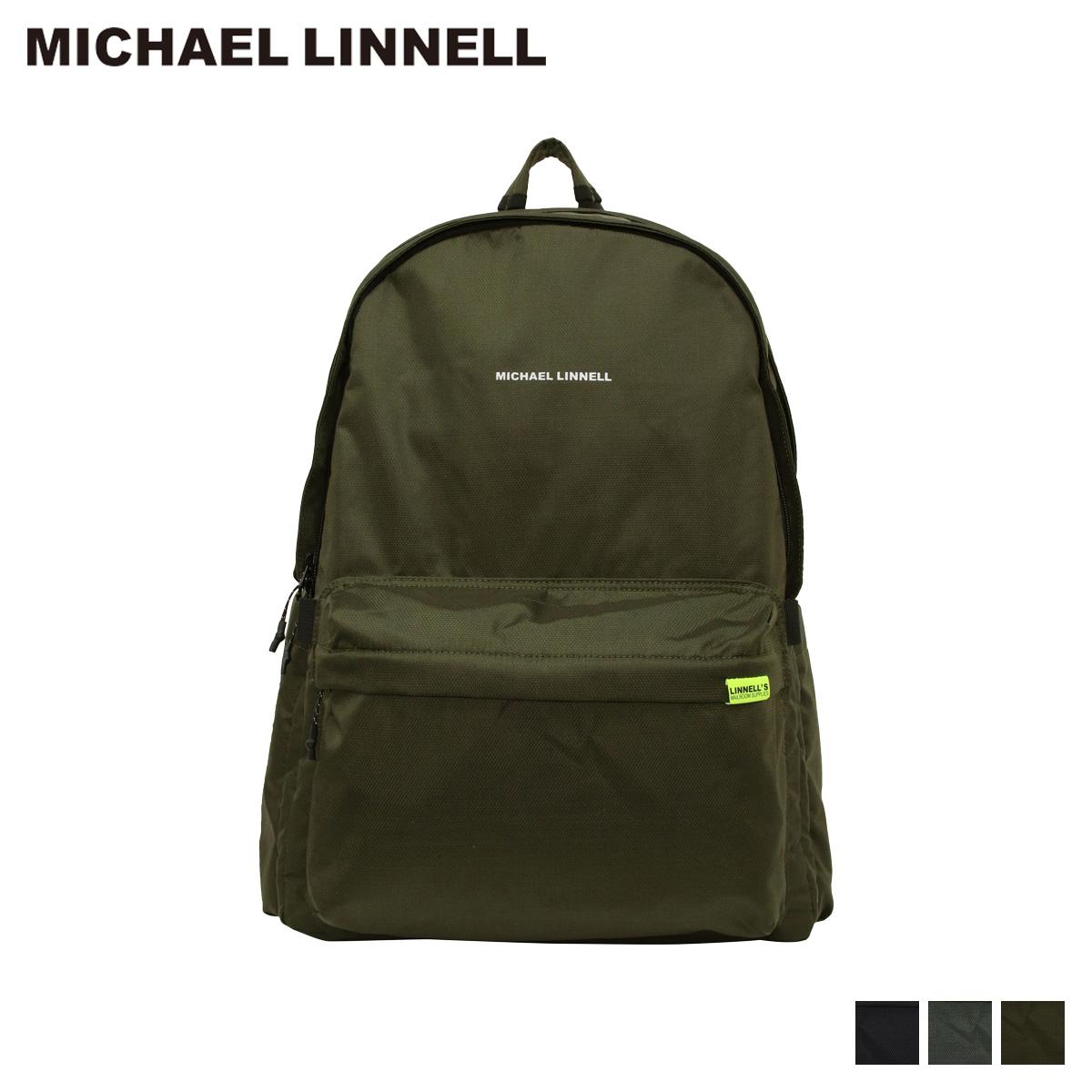 マイケルリンネル MICHAEL LINNELL リュック バッグ バックパック メンズ レディース 24L 撥水 軽量 EXPAND DAY PACK ブラック グレー カーキ 黒 MLEP-01 [9/14 新入荷]