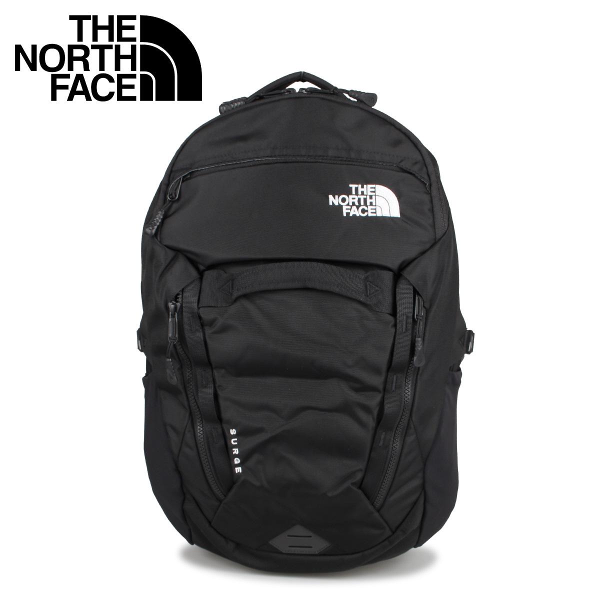 ノースフェイス THE NORTH FACE リュック バッグ バックパック サージ メンズ レディース 31L SURGE ブラック 黒 NF0A3ETV [10月 新入荷]