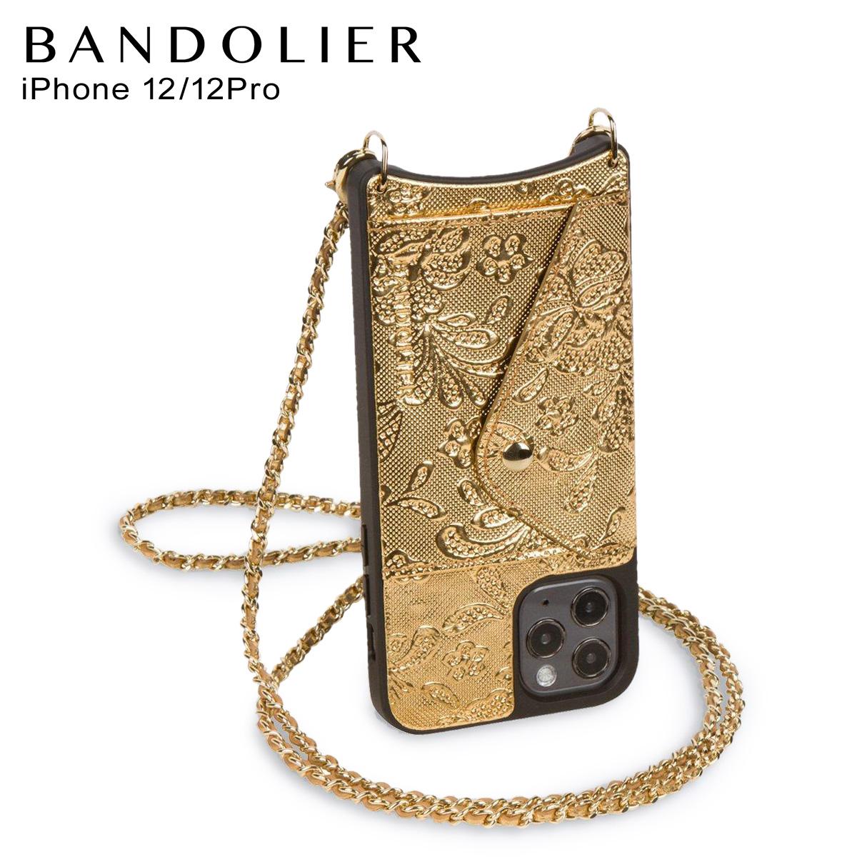 BANDOLIER正規代理店 送料無料 あす楽対応 バンドリヤー BANDOLIER iPhone12 12 Pro ケース スマホ 携帯 ショルダー アイフォン 最大1000OFFクーポン スロット LACE LILY ゴールド SLOT リリー 14LIGLDG GOLD サイド 大規模セール レディース 贈答品 メンズ レース SIDE