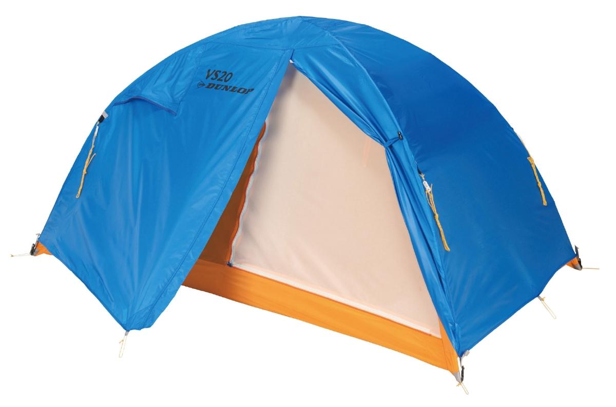 DUNLOP ダンロップテント アウトドア 2人用コンパクト登山テント 【あす楽対象外】【返品不可】