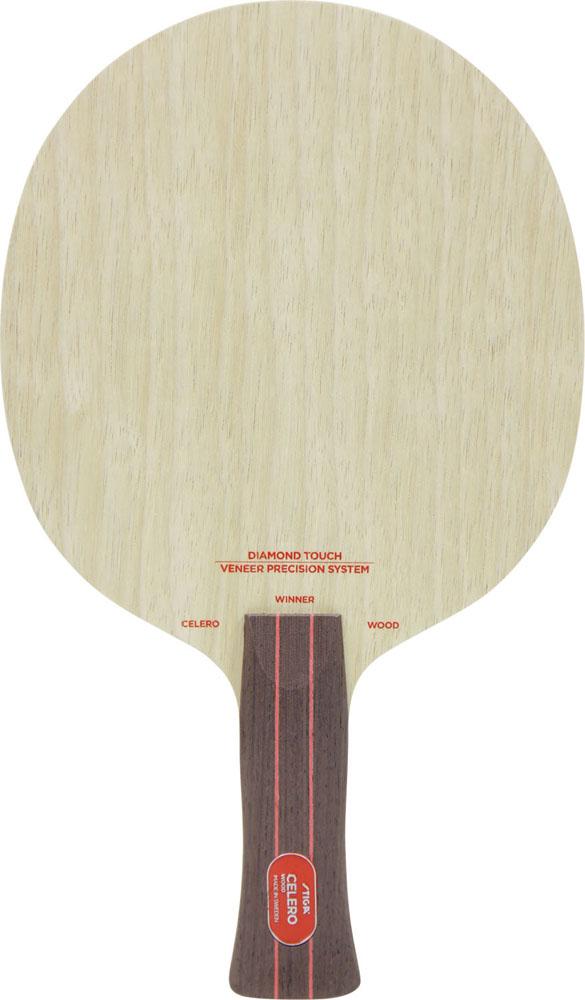 STIGA スティガ ラケット 卓球 シェークラケット CELERO WOOD WINNER セレロウッド アナトミカル 【あす楽対象外】