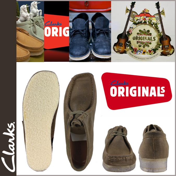 Clarks originals Clarks ORIGINALS Wallaby 86061 WALLABE suede crepe sole mens TAUPE suede