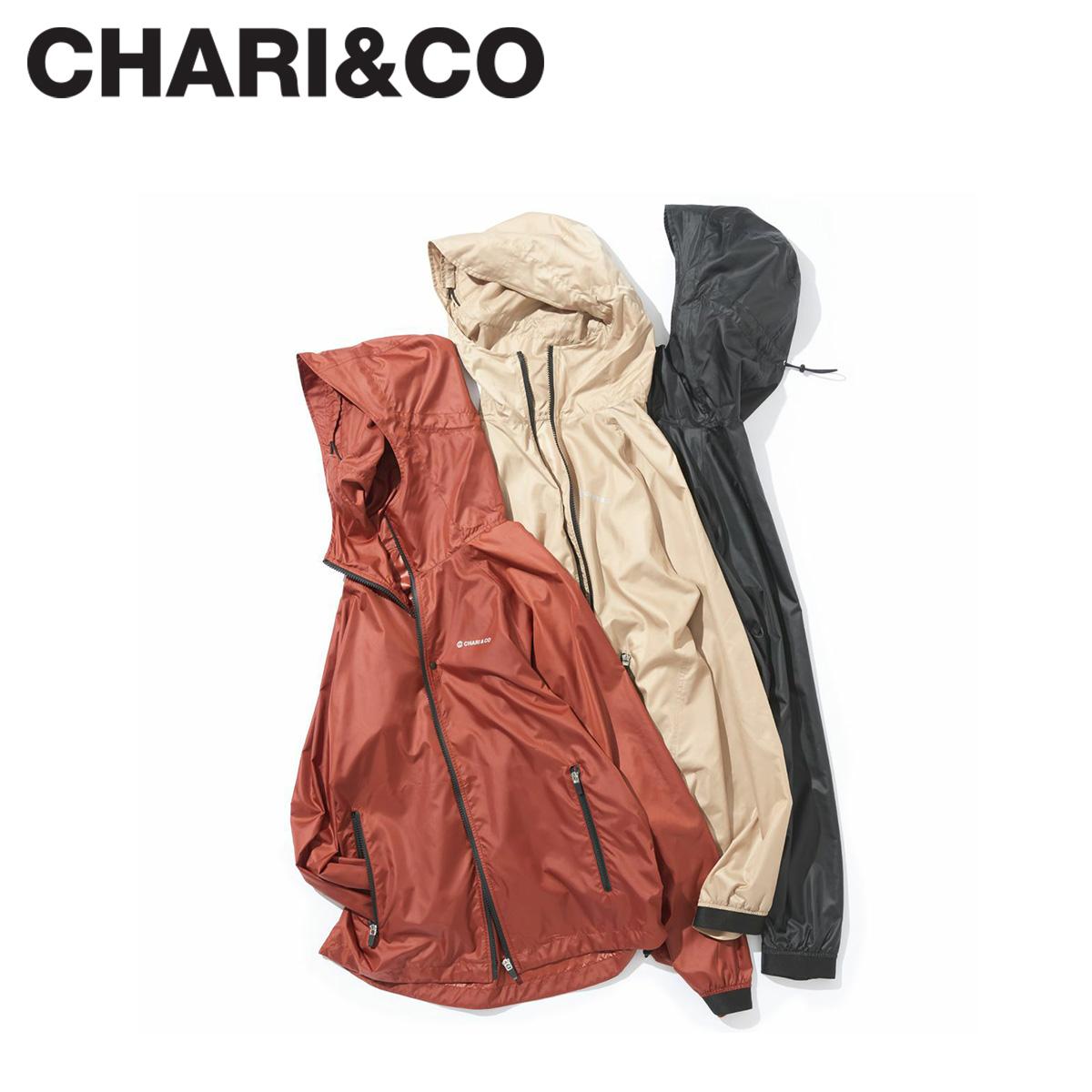 CHARI&CO チャリアンドコー ジャケット マウンテンパーカー メンズ レディース TREK GEAR JKT ブラック ベージュ バーガンディー 黒