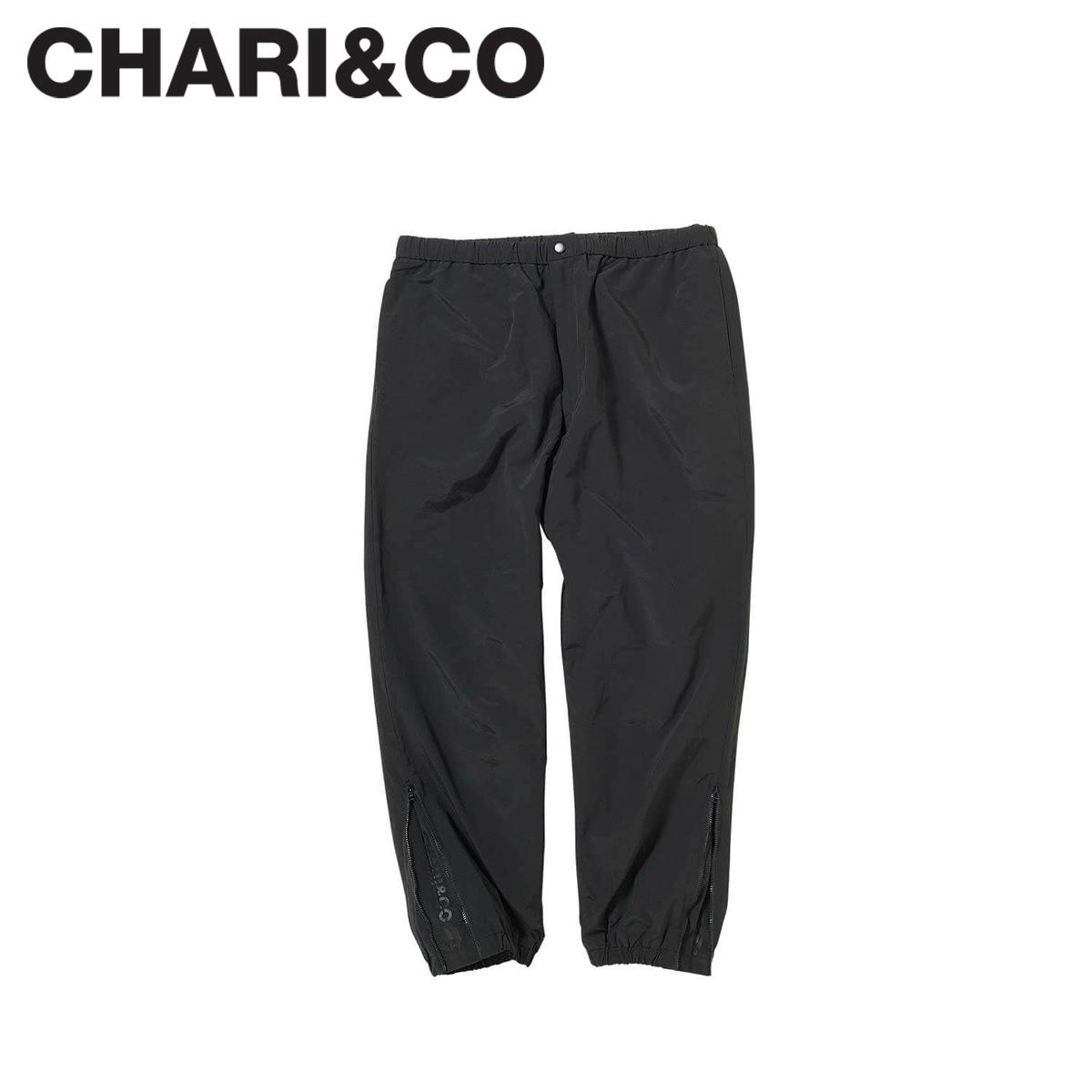 【最大2000円OFFクーポン】 CHARI&CO チャリアンドコー パンツ イージーパンツ メンズ SHAOLIN PANTS ブラック 黒