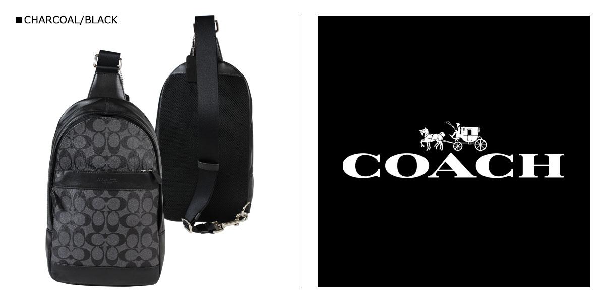 1b1f02815512 楽天市場】コーチ COACH バッグ ショルダーバッグ メンズ ボディバッグ ...