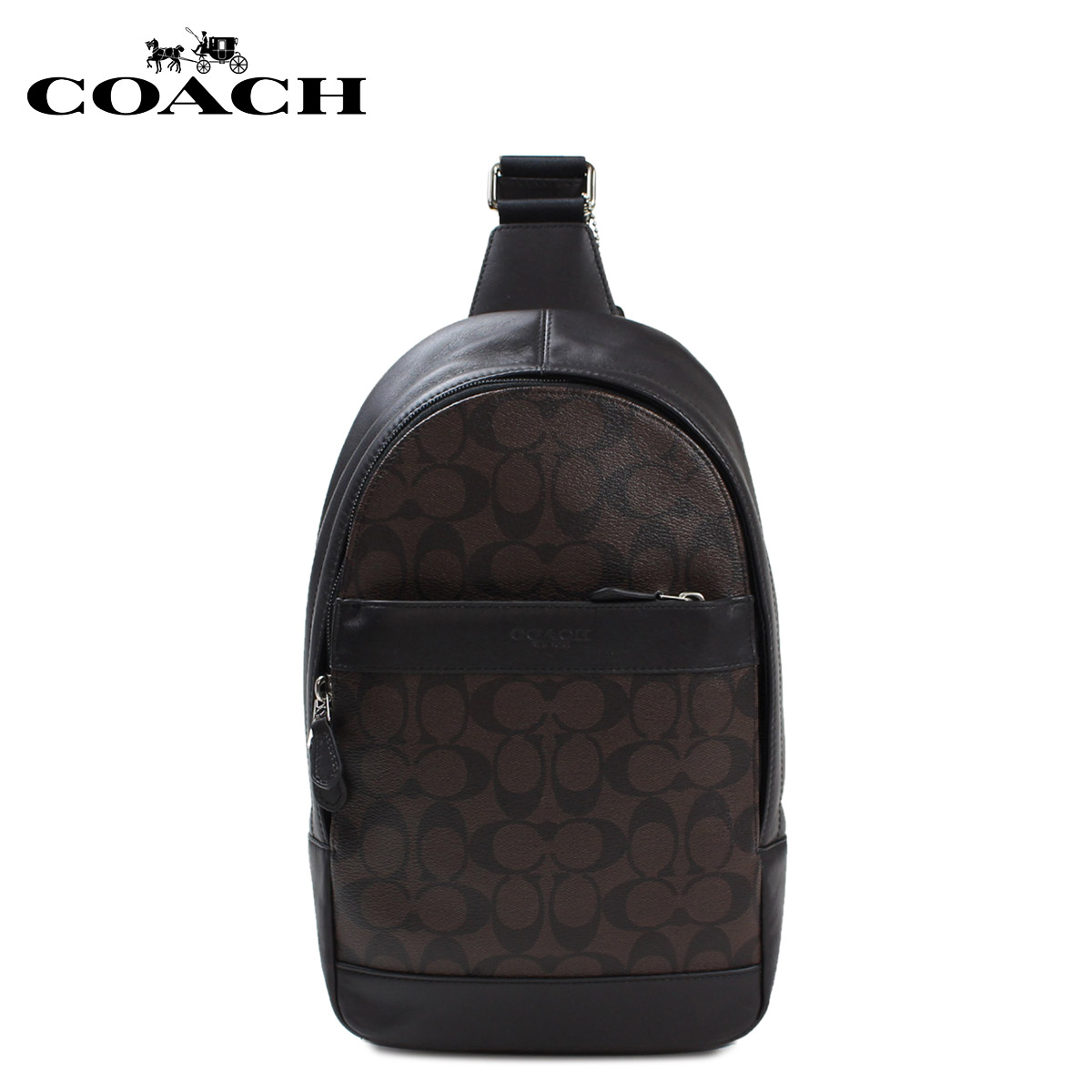 425aee94b ... Signature File Crossbody Bag, Style F58285 Coach bags mens COACH  shoulder bag Shoulder bag F54787 mahogany x Brown 1013 ...