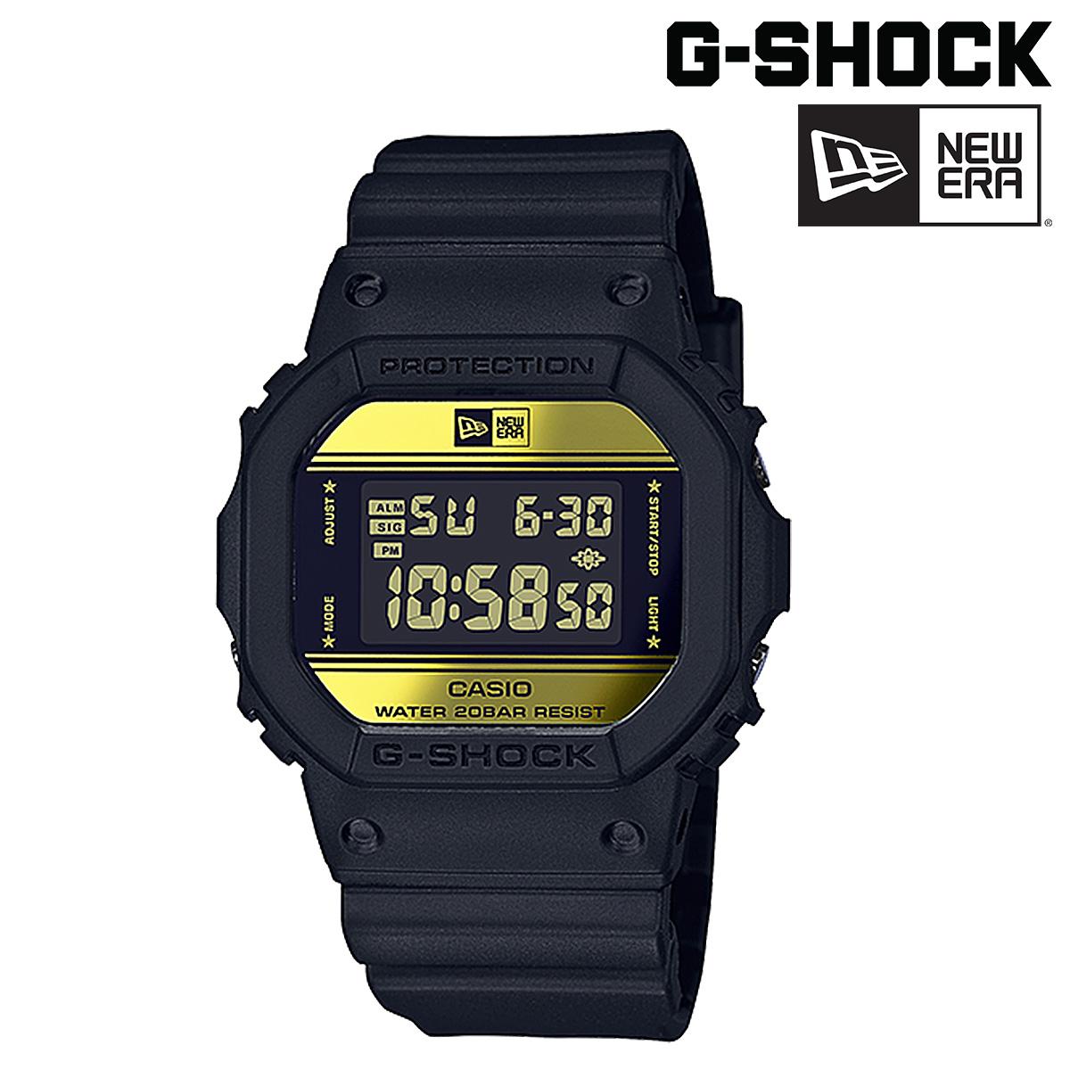 カシオ CASIO G-SHOCK ニューエラ NEWERA 腕時計 DW-5600NE-1JR コラボ ジーショック Gショック G-ショック ブラック メンズ レディース [9/5 再入荷]