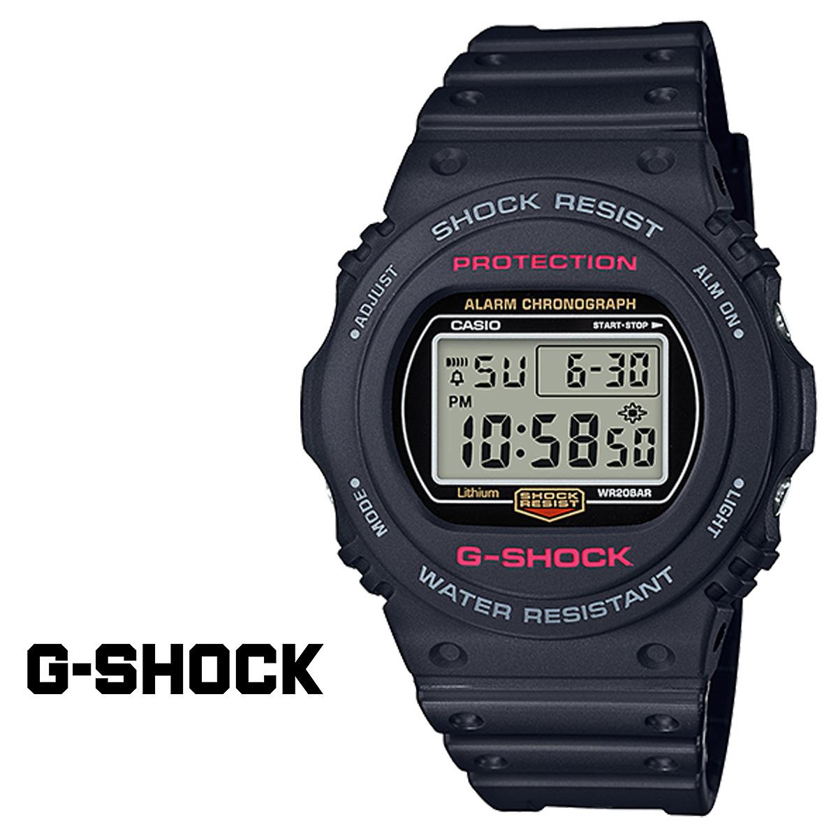 【最大2000円OFFクーポン】 カシオ CASIO G-SHOCK 腕時計 DW-5750E-1JF Gショック G-ショック ブラック メンズ レディース