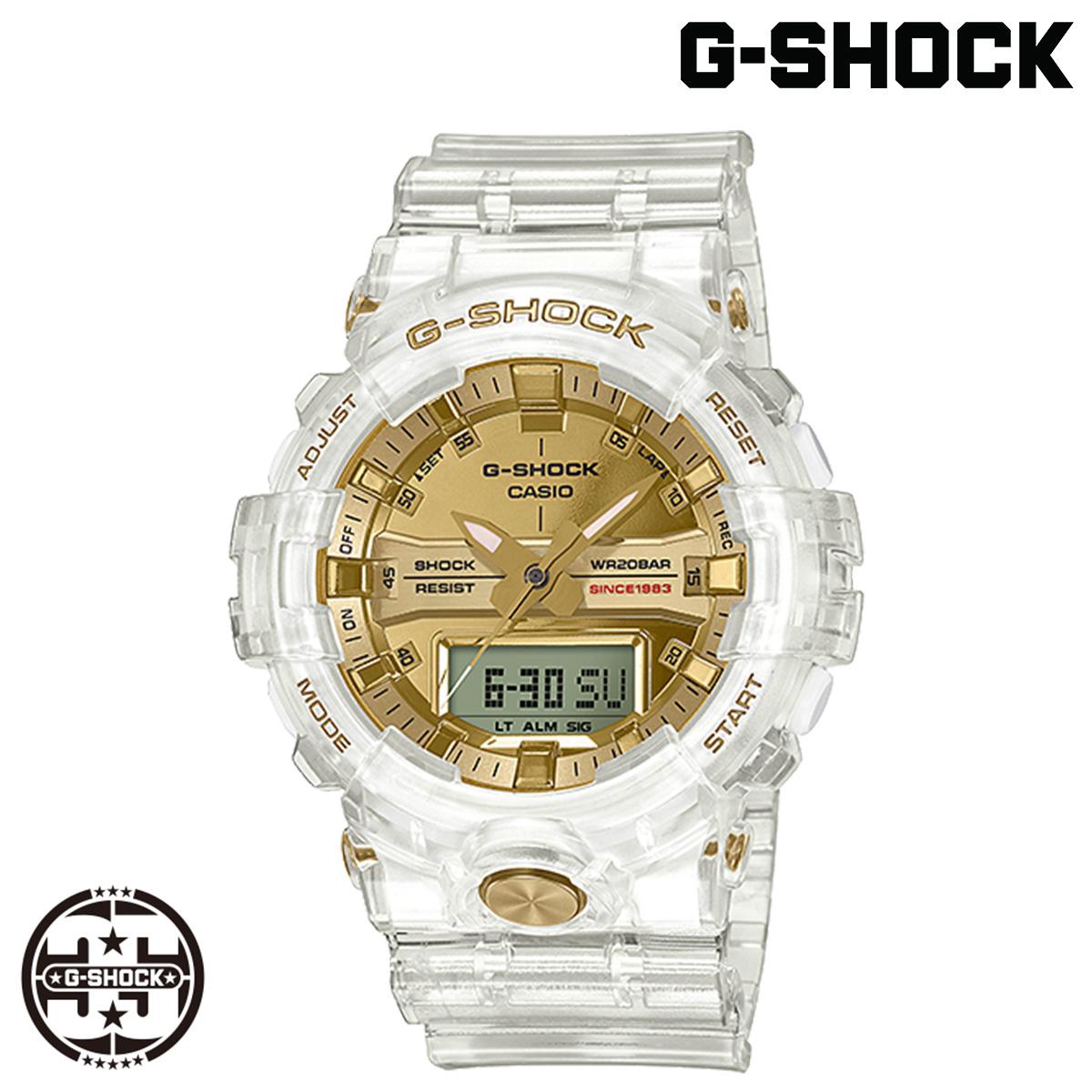 カシオ CASIO G-SHOCK 腕時計 GA-835E-7AJR 35周年記念モデル GLACIER GOLD クリア メンズ レディース
