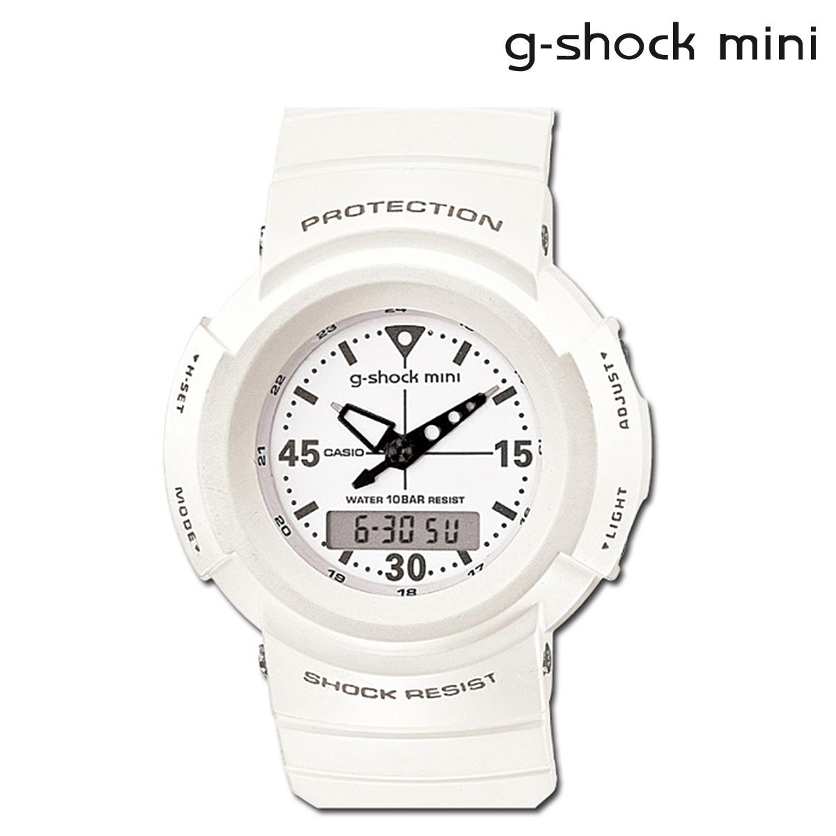 Casio CASIO g-shock mini ladies watch men's GMN-500-7BJR white [11 / 10 new in stock] [regular] ★ ★
