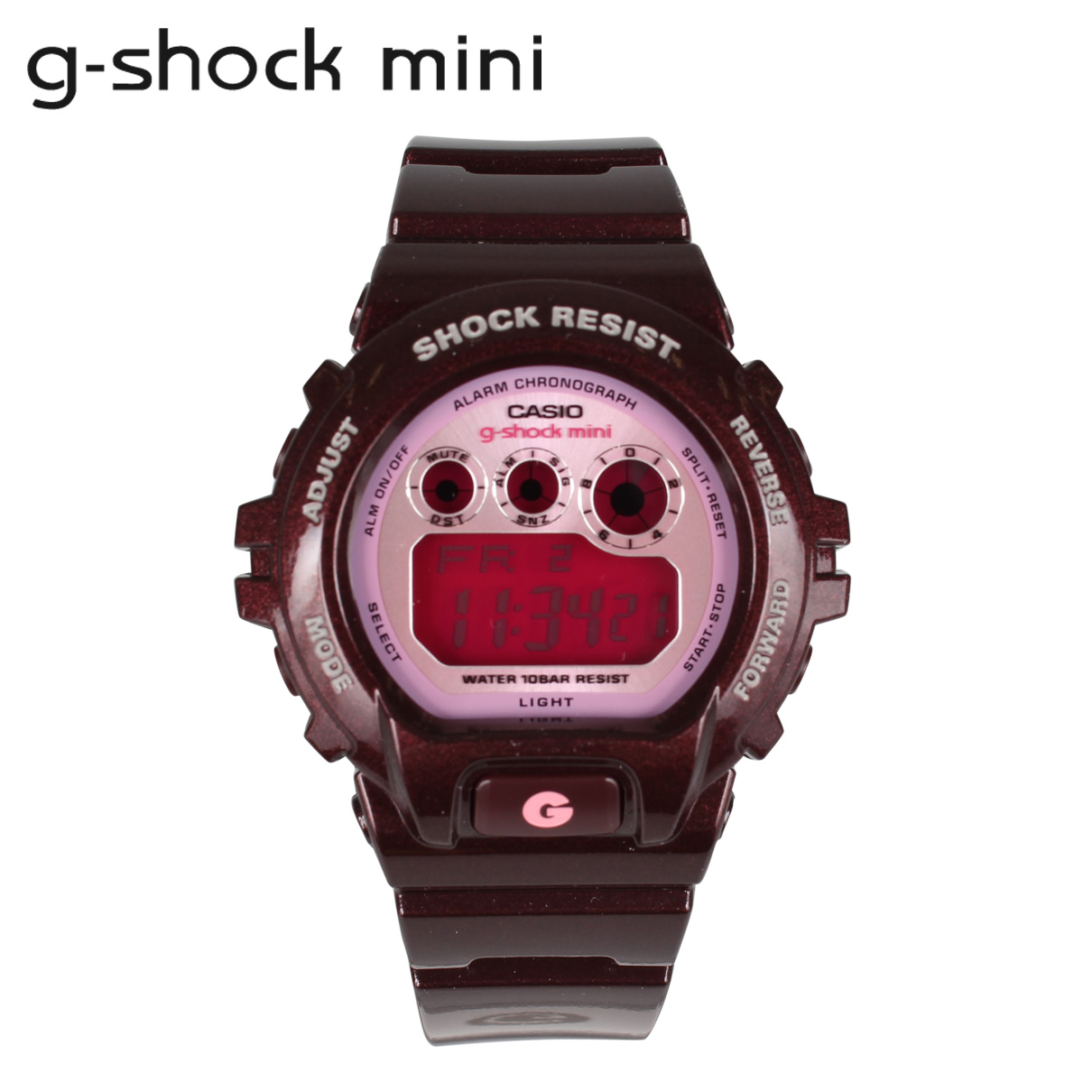 Point 10 x Casio GMN-692-5JR CASIO g-shock mini watch mens ladies watch