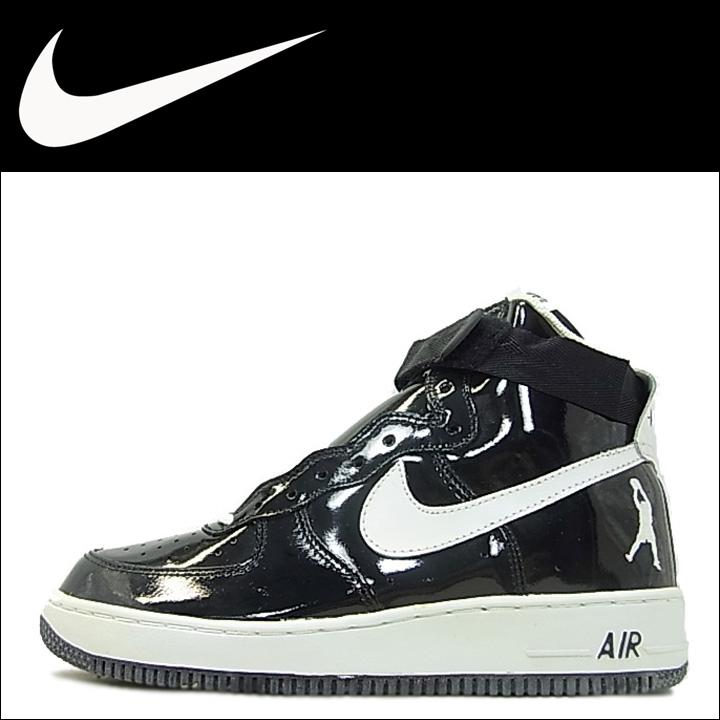 Nike NIKE air force sneakers AIR FORCE 1 HI SHEED air force 1 high seed 302640-011 black mens