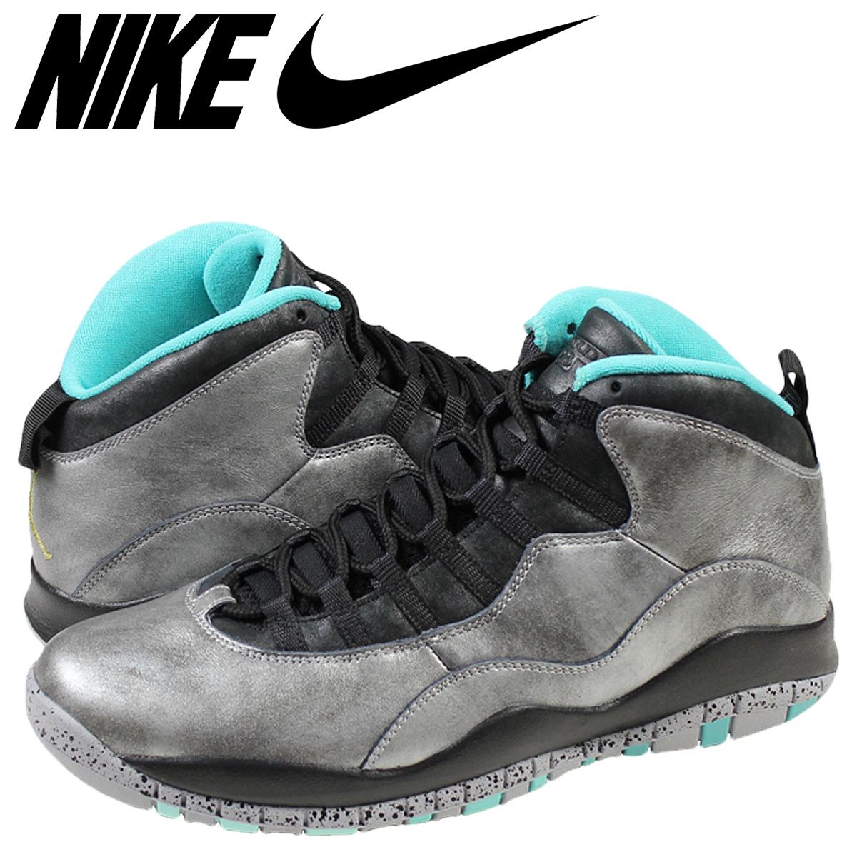 hot sales 749fb 4ff86 Nike NIKE Air Jordan 10 nostalgic sneakers AIR JORDAN 10 RETRO LADY LIBERTY  lady liberty 705,178-045 dust metallic gold men