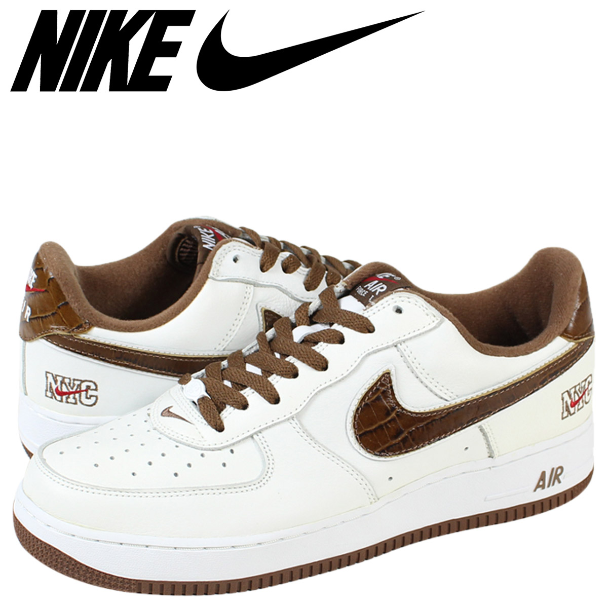 low priced af7bd 838eb SOLD OUT NIKE Nike Air Force sneakers AIR FORCE 1 LOW NYC air force 1 Lo  306509 - 121 white mens