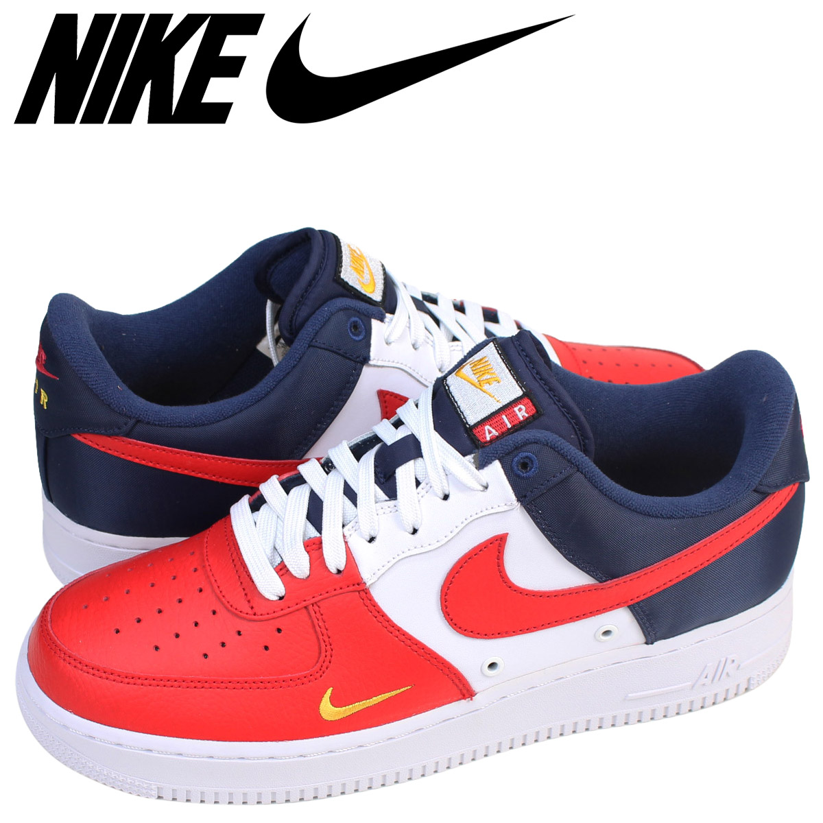 Nike 511 Air Force Sneakers Low Men's 07 Lv8 1 601 Tricolor 823 QCtdBsohrx