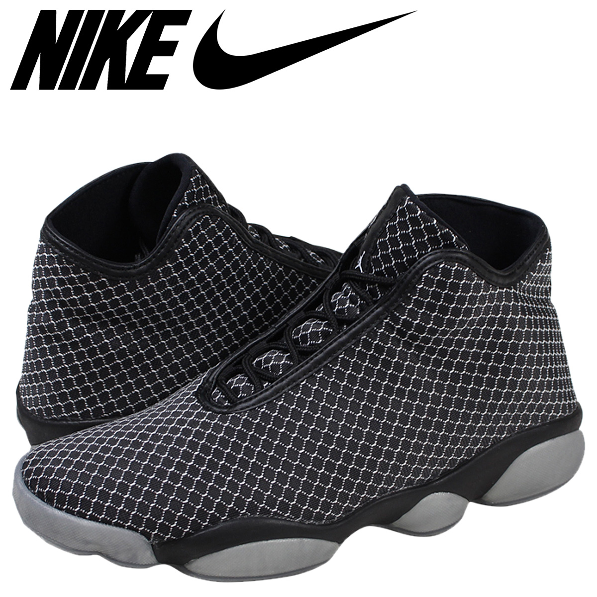 official photos 610d2 fbbe8 Nike NIKE Air Jordan sneakers AIR JORDAN HORIZON horizon 823,581-010 black  men