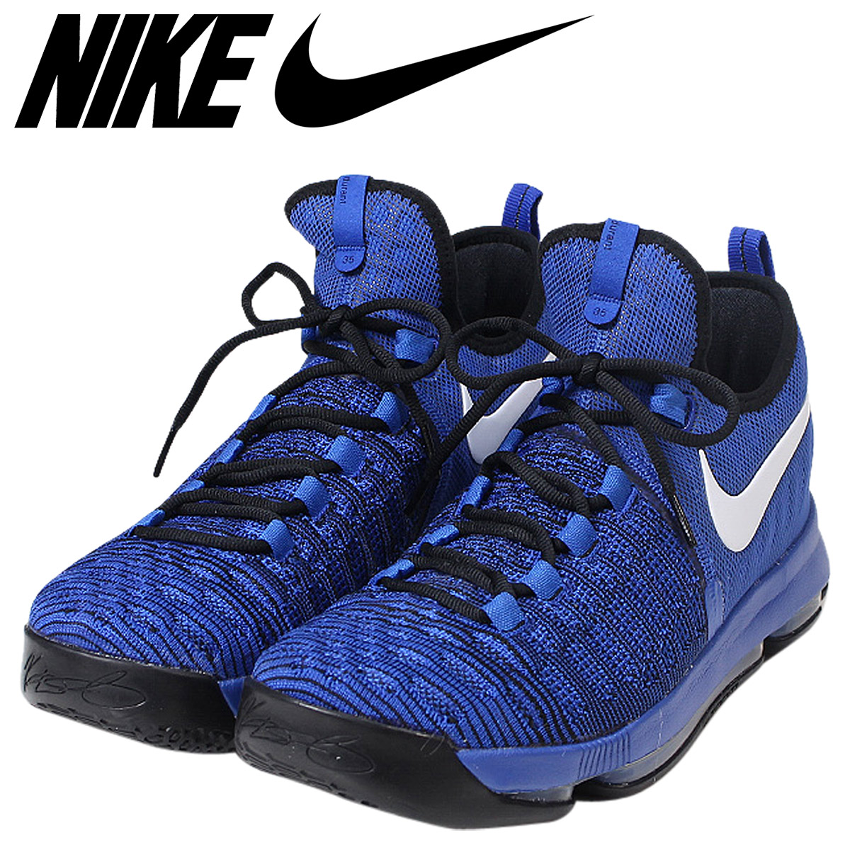 huge discount 2d477 67b33 Nike NIKE zoom KD9 sneakers ZOOM KD 9 EP GAME ROYAL WHITE men 844,382-410 Kevin  Durant blue