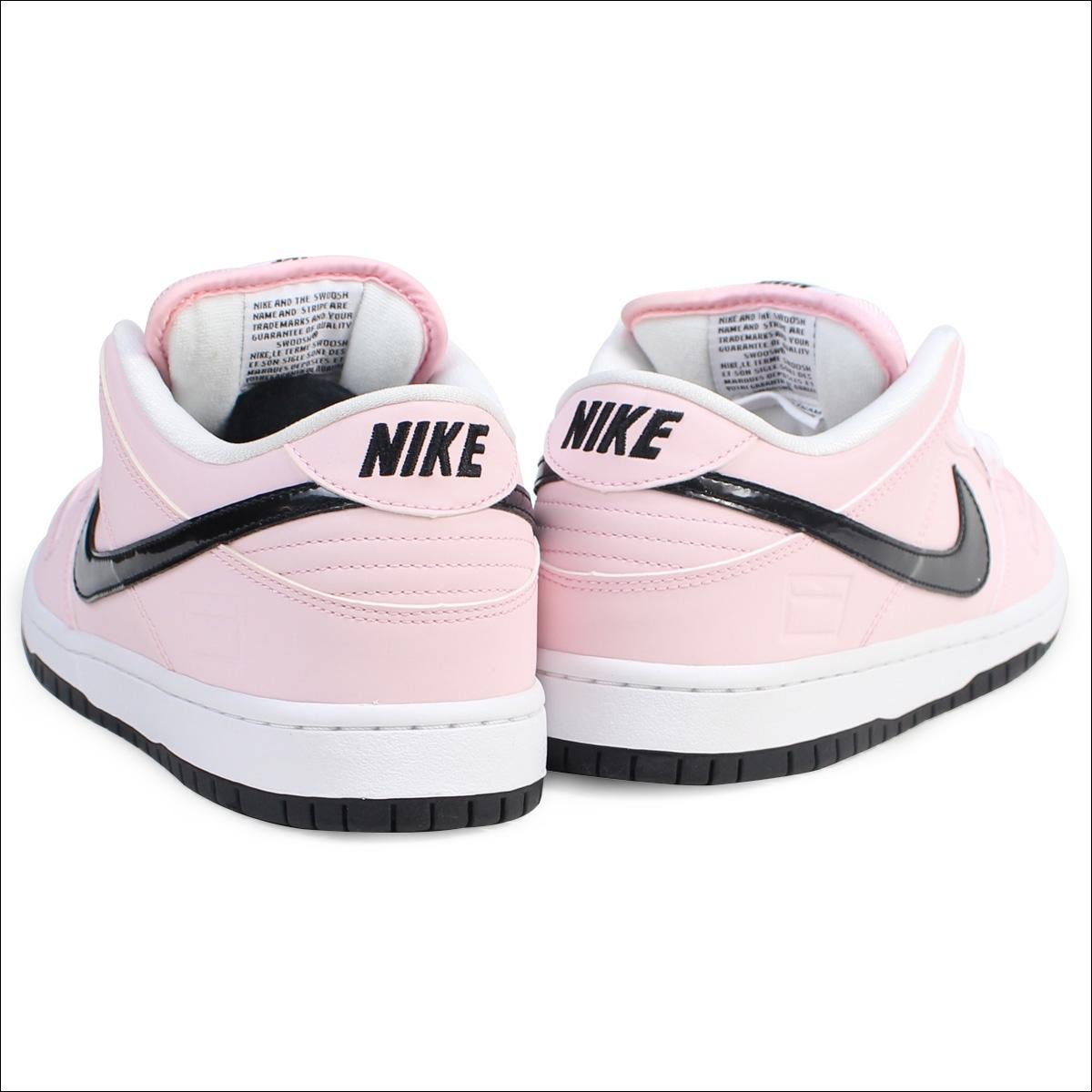 timeless design bd792 a0ddb Nike NIKE SB dunk low sneakers DUNK LOW ELITE PINK BOX 833,474-601 men s  pink