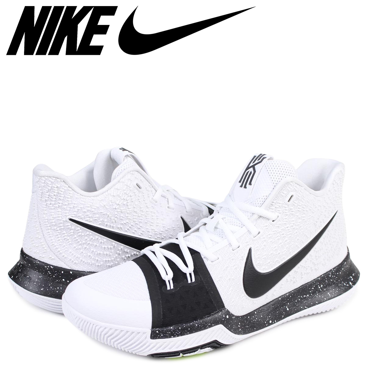 official photos 07cdf aad90 Nike NIKE chi Lee 3 sneakers men KYRIE 3 TB 917,724-100 chi Lee Irving white
