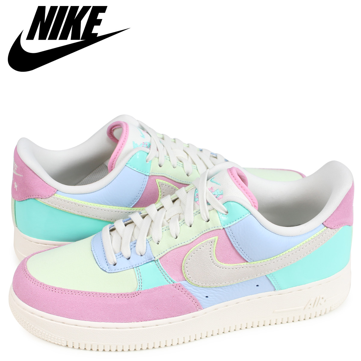 NIKE AIR FORCE 1 LOW EASTER EGG Nike air force 1 sneakers men pink AH8462 400