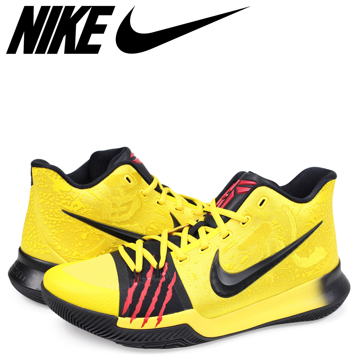 12d06904eb9b Nike NIKE chi Lee 3 sneakers men KYRIE 3 MAMBA MENTALITY EP BRUCE LEE  AJ1692-700 yellow