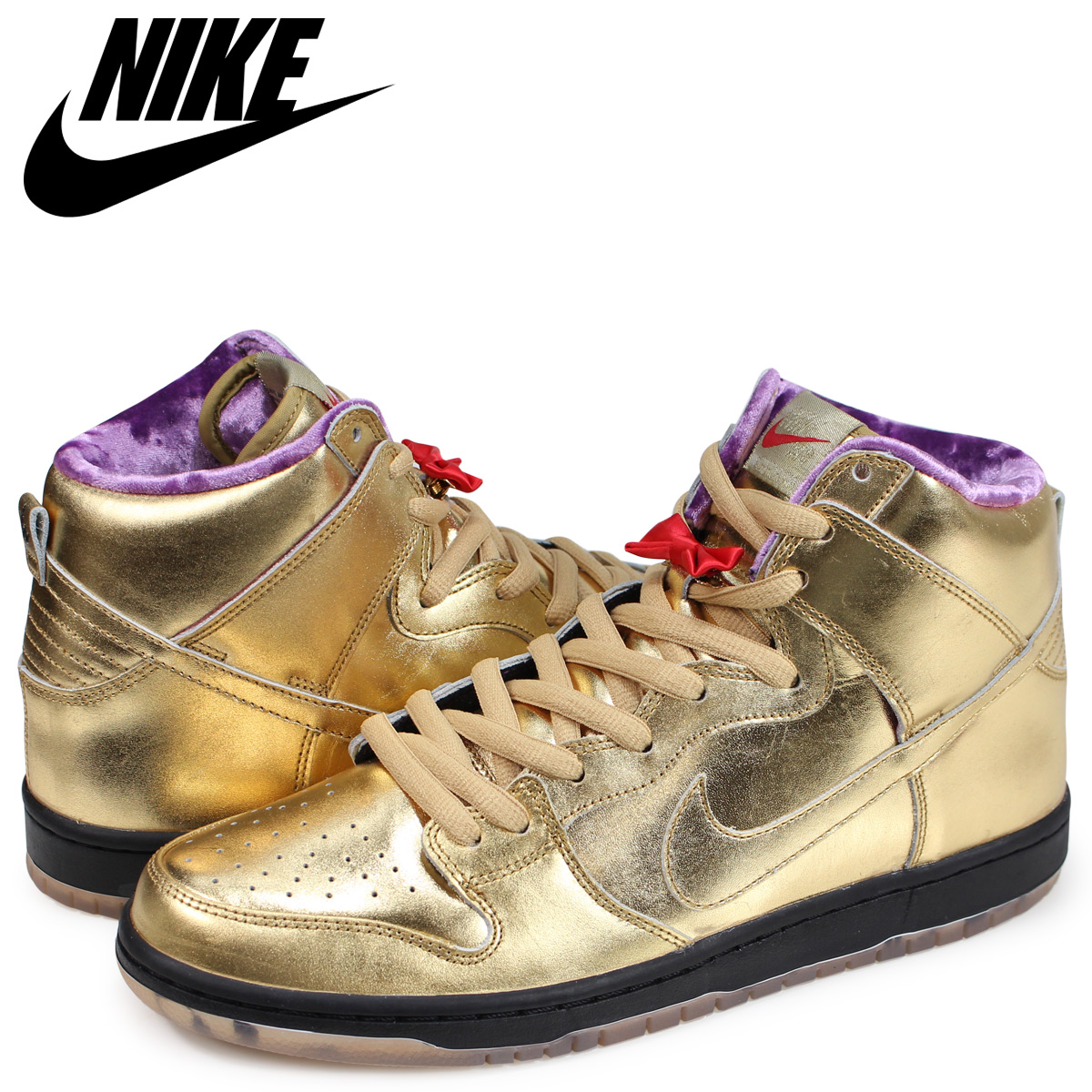 new concept 00f20 0bb86 NIKE SB DUNK HIGH HUMIDITY Nike dunk high sneakers men collaboration gold  AV4168-776