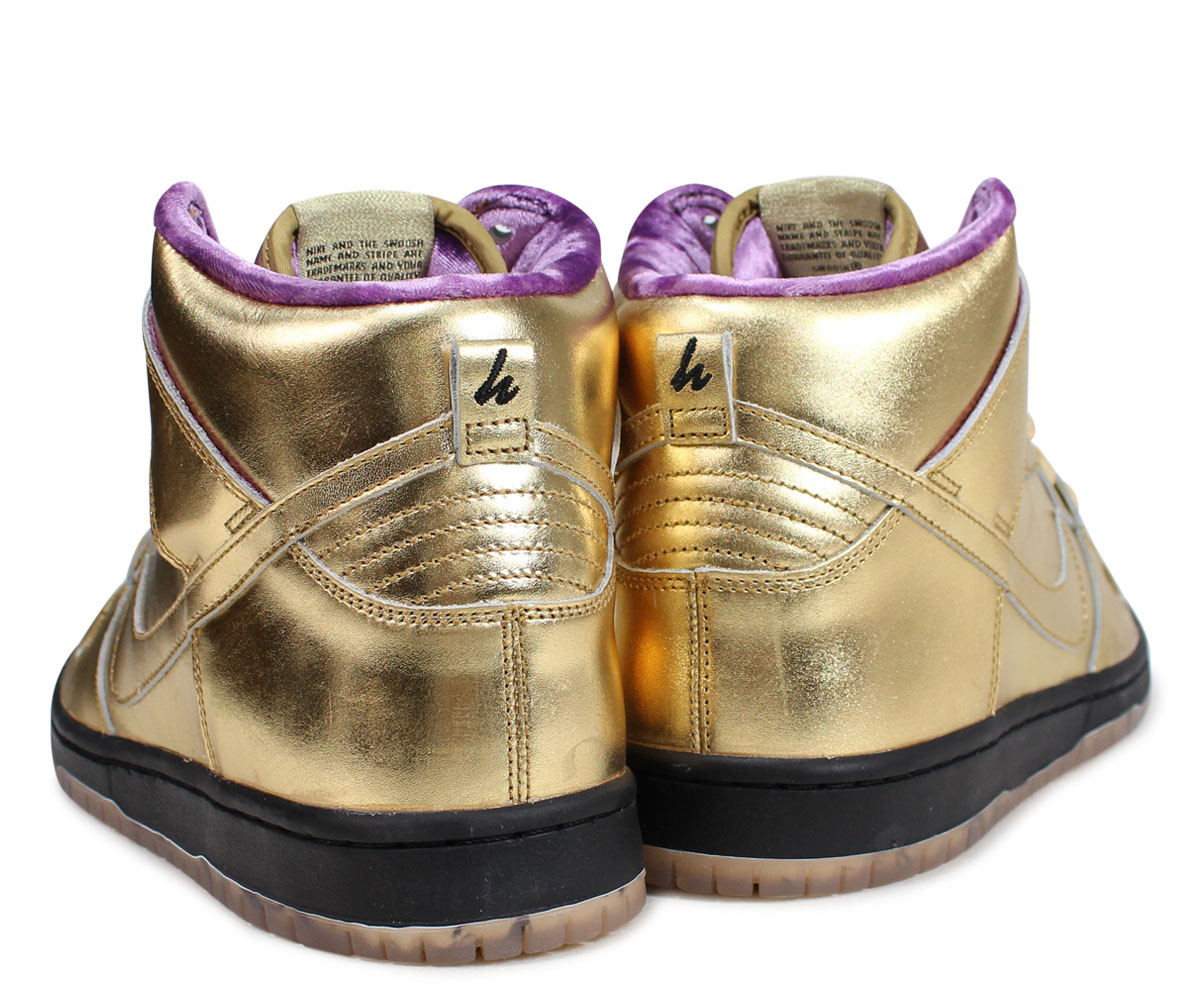 new concept 0787f 0db2b NIKE SB DUNK HIGH HUMIDITY Nike dunk high sneakers men collaboration gold  AV4168-776