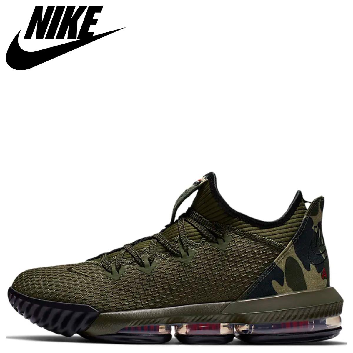 sports shoes 27ded d7014 NIKE LEBRON 16 LOW Nike Revlon 16 sneakers men camouflage khaki camo  CI2668-300