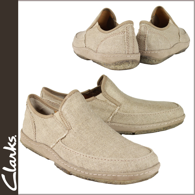 Men's Clarks originals Clarks ORIGINALS comfort shoes [beige] 34444 TORPEDO hemp [genuine]