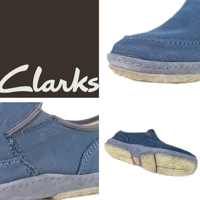 Clarks originals-Clarks ORIGINALS comfort shoes [Navy] 34445 TORPEDO canvas mens
