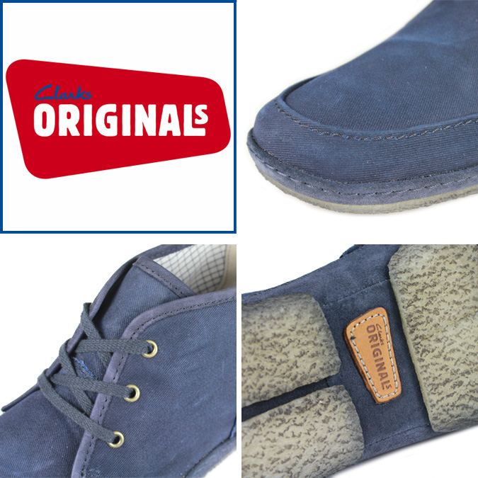 Men's [SOLD OUT] Clarks originals-Clarks ORIGINALS pulverize boots [Navy] PULVERIZE 78029