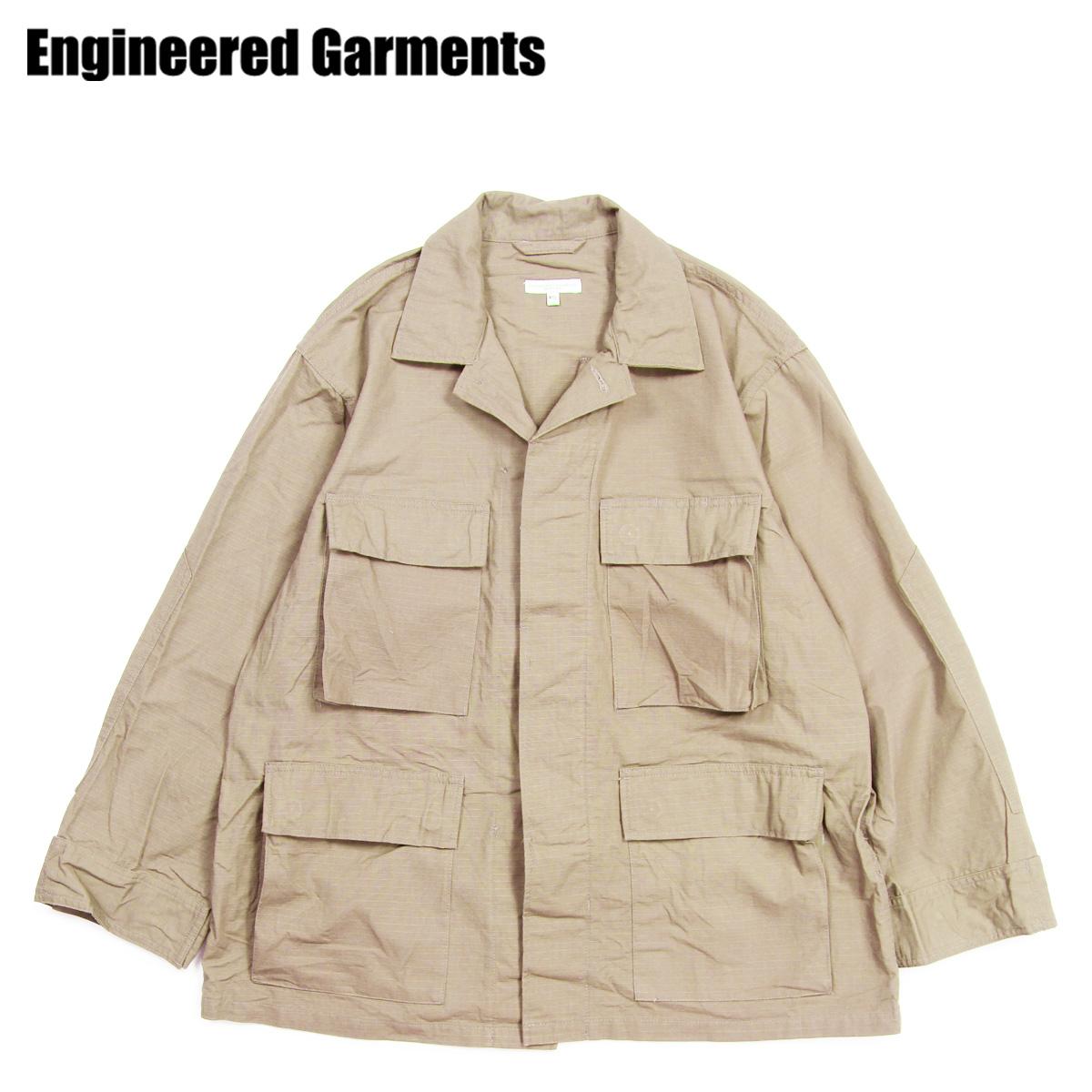 【最大2000円OFFクーポン】 【訳あり】 エンジニアドガーメンツ ENGINEERED GARMENTS ジャケット ミリタリージャケット メンズ BDU JACKET カーキ 19SD002 【返品不可】