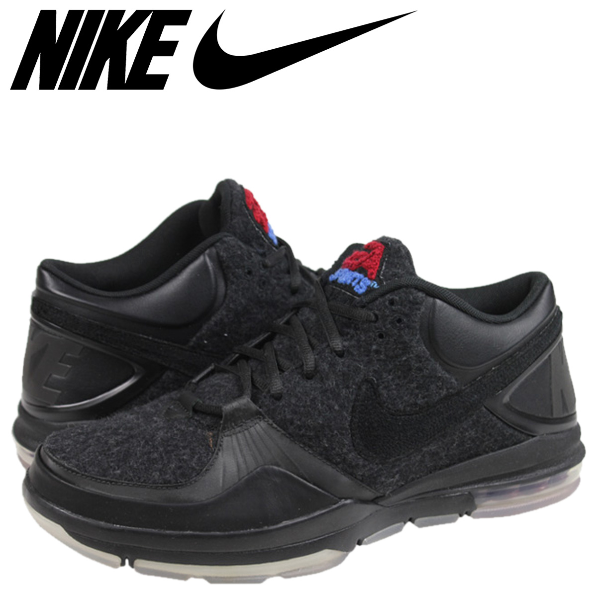 ナイキ NIKE トレーナー 1.3 スニーカー TRAINER 1.3 MID EA SPORTS BLACK MID EA SPORTS 黒 11 【zzi】【返品不可】