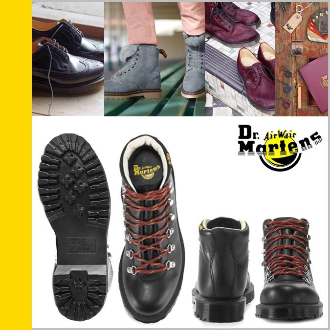 Dr. Martens Dr.Martens boots hiker R13615002 HOLT leather men women