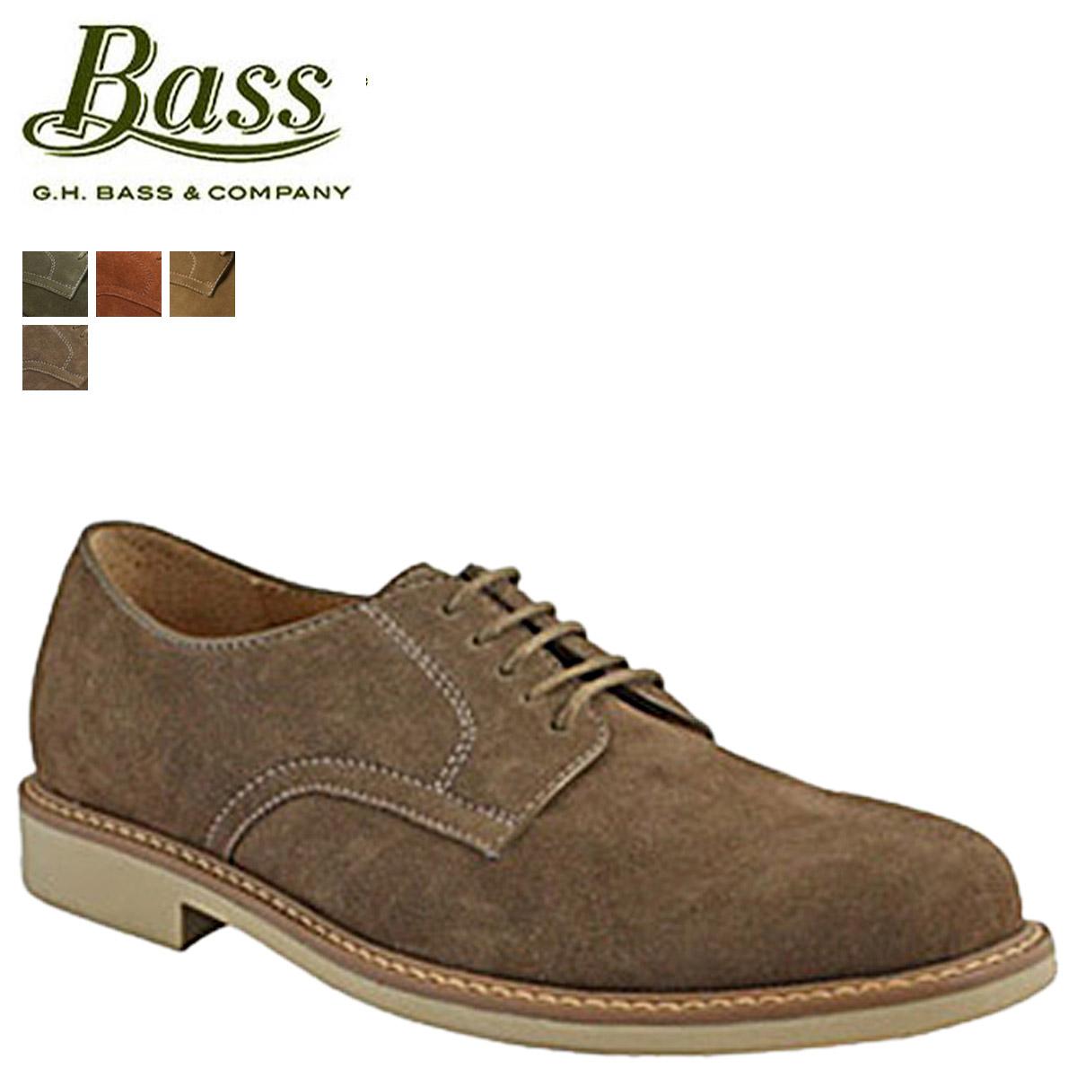 [SOLD OUT] gyaitibas G. H. BASS Oxford Plantu shoe [Olive blast smoke taupe, BROCKTON Brockton D wise suede men's
