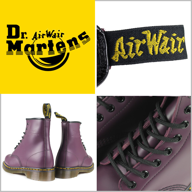 Dr. Martens Dr.Martens 1460 8 hole boots R10072501 MATERIAL UPDATES ミルドスムース leather mens Womens 8 EYE BOOTS